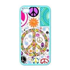 Peace Collage Apple Iphone 4 Case (color) by StuffOrSomething