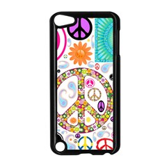 Peace Collage Apple Ipod Touch 5 Case (black) by StuffOrSomething