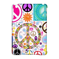 Peace Collage Apple Ipad Mini Hardshell Case (compatible With Smart Cover) by StuffOrSomething