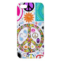 Peace Collage Iphone 5 Premium Hardshell Case