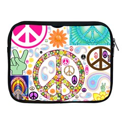Peace Collage Apple Ipad Zippered Sleeve