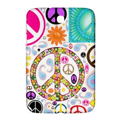 Peace Collage Samsung Galaxy Note 8 0 N5100 Hardshell Case  by StuffOrSomething