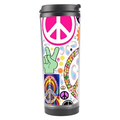 Peace Collage Travel Tumbler by StuffOrSomething