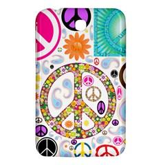 Peace Collage Samsung Galaxy Tab 3 (7 ) P3200 Hardshell Case
