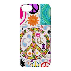 Peace Collage Apple Iphone 5s Hardshell Case by StuffOrSomething