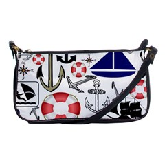 Nautical Collage Evening Bag by StuffOrSomething