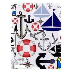 Nautical Collage Apple Ipad 3/4 Hardshell Case by StuffOrSomething