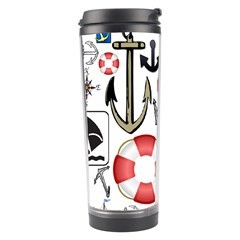 Nautical Collage Travel Tumbler