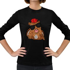 S Is For Squirrel Women s Long Sleeve T Shirt (dark Colored)