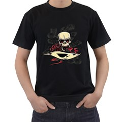 Cards Player Men s T-shirt (Black) by Contest1865818