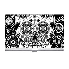Sugar Skull Business Card Holder by Ancello