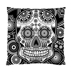 Sugar Skull Cushion Case (single Sided)  by Ancello