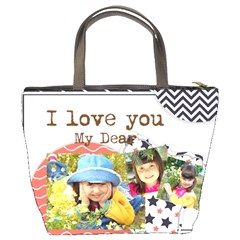 Kids By Kids   Bucket Bag   J5p49a7ce52c   Www Artscow Com Back