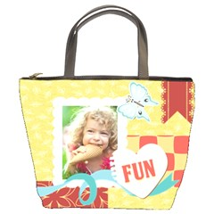 Kids By Kids   Bucket Bag   Fevq29f21211   Www Artscow Com Front