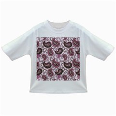 Paisley In Pink Baby T Shirt