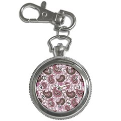 Paisley In Pink Key Chain & Watch by StuffOrSomething