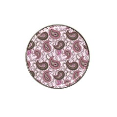 Paisley In Pink Golf Ball Marker 4 Pack (for Hat Clip) by StuffOrSomething