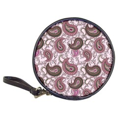 Paisley In Pink Cd Wallet by StuffOrSomething