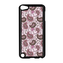 Paisley In Pink Apple Ipod Touch 5 Case (black)
