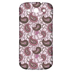 Paisley In Pink Samsung Galaxy S3 S Iii Classic Hardshell Back Case by StuffOrSomething