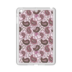 Paisley In Pink Apple Ipad Mini 2 Case (white) by StuffOrSomething