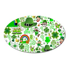 St Patrick s Day Collage Magnet (oval) by StuffOrSomething