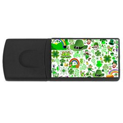 St Patrick s Day Collage 4gb Usb Flash Drive (rectangle) by StuffOrSomething