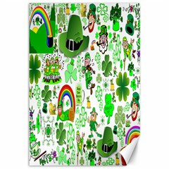 St Patrick s Day Collage Canvas 12  X 18  (unframed) by StuffOrSomething