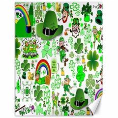 St Patrick s Day Collage Canvas 18  x 24  (Unframed) by StuffOrSomething