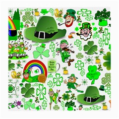 St Patrick s Day Collage Glasses Cloth (medium) by StuffOrSomething