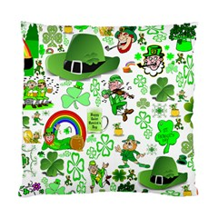 St Patrick s Day Collage Cushion Case (single Sided)  by StuffOrSomething