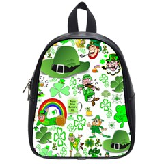 St Patrick s Day Collage School Bag (small) by StuffOrSomething