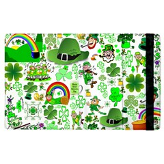St Patrick s Day Collage Apple Ipad 3/4 Flip Case by StuffOrSomething