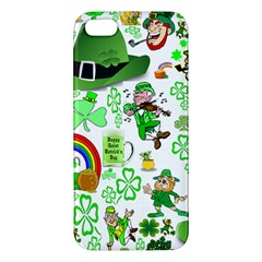 St Patrick s Day Collage Iphone 5 Premium Hardshell Case by StuffOrSomething