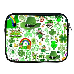 St Patrick s Day Collage Apple Ipad Zippered Sleeve by StuffOrSomething