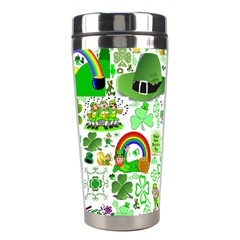 St Patrick s Day Collage Stainless Steel Travel Tumbler by StuffOrSomething
