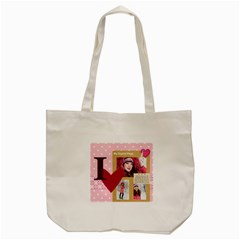 Love By Ki Ki   Tote Bag (cream)   Re4o4i1m2e4p   Www Artscow Com Back