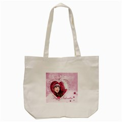 Love By Ki Ki   Tote Bag (cream)   Wluzh0d584h3   Www Artscow Com Front