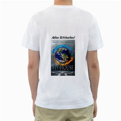 Hampigwhite By Jackie Mcpherson   Men s T Shirt (white) (two Sided)   7l7euy3zrw5o   Www Artscow Com Back
