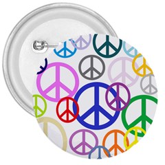 Peace Sign Collage Png 3  Button by StuffOrSomething