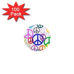Peace Sign Collage Png 1  Mini Button Magnet (100 Pack) by StuffOrSomething