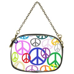 Peace Sign Collage Png Chain Purse (one Side) by StuffOrSomething
