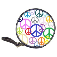 Peace Sign Collage Png Cd Wallet by StuffOrSomething