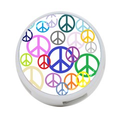 Peace Sign Collage Png 4 Port Usb Hub (two Sides) by StuffOrSomething