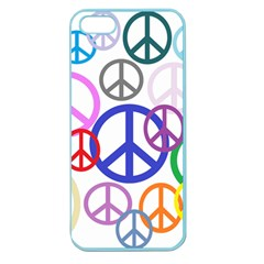 Peace Sign Collage Png Apple Seamless Iphone 5 Case (color) by StuffOrSomething