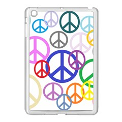 Peace Sign Collage Png Apple Ipad Mini Case (white) by StuffOrSomething