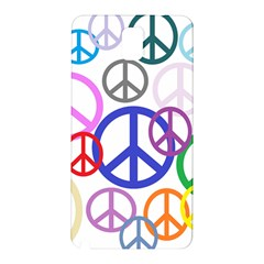 Peace Sign Collage Png Samsung Galaxy Note 3 Hardshell Back Case by StuffOrSomething
