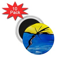 Spring 1 75  Button Magnet (10 Pack) by Siebenhuehner