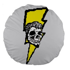 8 Bit Rock & Roll 18  Premium Round Cushion