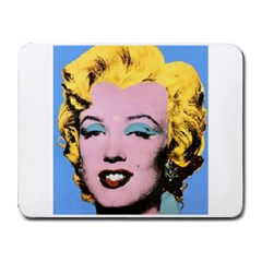 warhol Marilyn-Posters Small Mousepad by bonniebeautyplanet